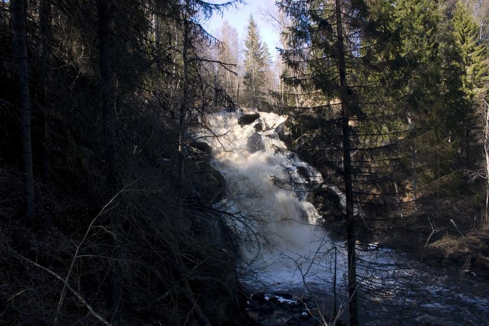 Водопад белые мосты фото
